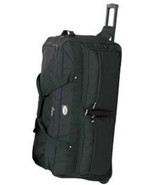 Large 36 Inch Rolling Wheeled Duffel Bags Luggage Travel New 8996 Wheels... - $61.27