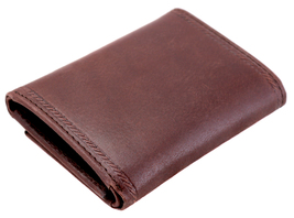 Nautica Men's Genuine Vintage Leather Credit Card Id Trifold Wallet image 11