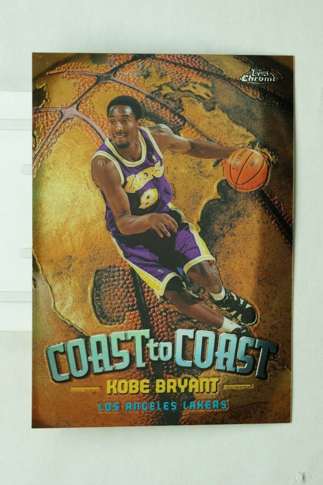 Primary image for 1999-00 KOBE BRYANT NM-MINT TOPPS CHROME COAST TO COAST #CC-1 VERY RARE (DR)