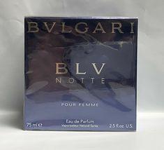 Bvlgari Blv Notte Pour Femme Perfume 2.5 Oz Eau De Parfum Spray  image 1