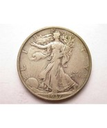 1937 Walking Liberty 50 Cents Silver Coin Nice! - $11.20