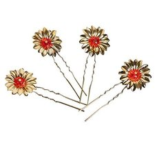 10 PCS Bridal Chinese Ancient Costume Headdress Hairpin Small Comb Tiara-A2 - $13.91