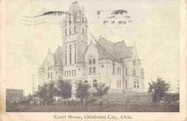 Court House Oklahoma City OK 1906 postcard - $6.93