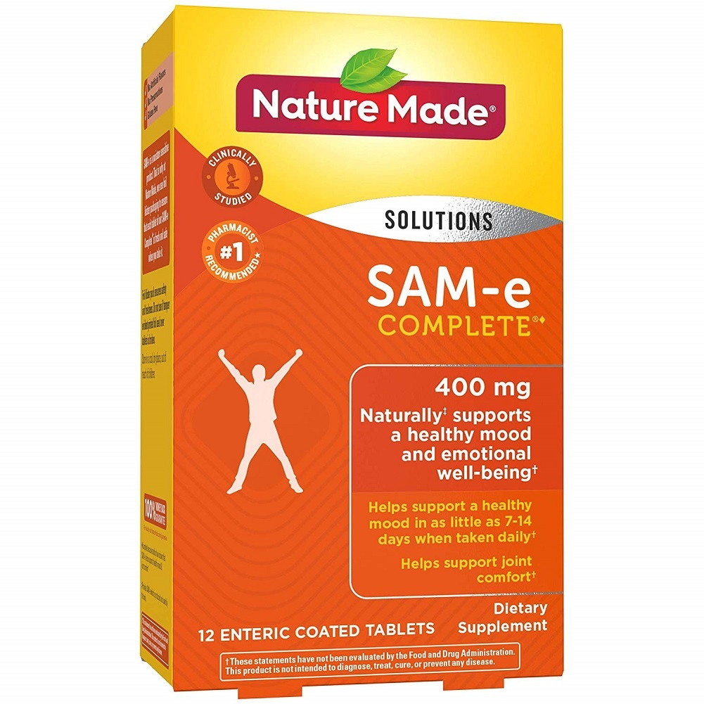 Nature Made SAM-e Complete 400mg Supports Healthy Mood & Joint Comfort 12 Tabs - $82.70