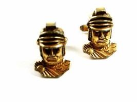 Auténtico Dorado Vintage Romano/Griego Soldado Gemelos por Anson 102414 - $87.09
