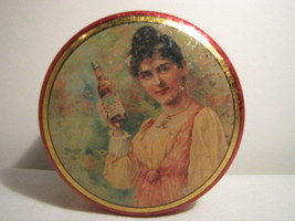 """Anheuser-Busch, Inc. Budweiser Victorian Design Collector Tin - 1992 - 3.5"""" - $3.99"""