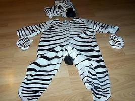 Baby Infant Size 18-24 Months Underwraps Zebra Horse Halloween Costume EUC - ₹2,984.82 INR
