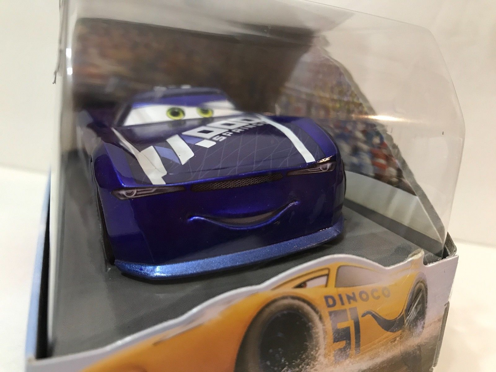 Disney Store Exclusive Cars Ed Truncan Die Cast Car Chaser Series New in Box