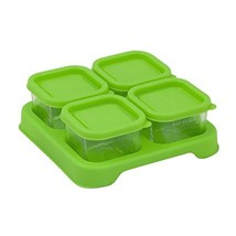 green sprouts Fresh Baby Food Glass Cubes 4 Pack, 2 Oz | Store, carry, h... - €10,36 EUR