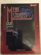 Mean Streets - Bloodshadows Campaign Pack- West End Games - $5.00