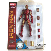 Marvel Select Iron Man MK43 Mark XLIII Armor PVC Action Figure Collectib... - $54.40