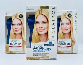 3 x Clairol Root Touch Up Kit #9 Matches Light Blonde Shades Brand New Sealed - $24.99