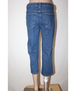 """LEE RIVETED Ultimate 5 Women's Size 8 M Capri Cropped Stretch Jeans 22"""" ... - $24.18"""