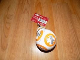 Hallmark Disney Star Wars BB8 Droid Christmas Holiday Ornament New 2016 - $15.00