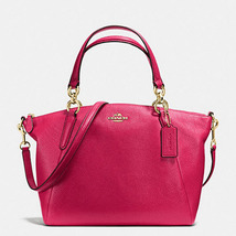 Coach Small Kelsey Pebble Leather F 36675 Brigh... - $149.71