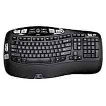 Logitech 920-001996 K350 Wireless USB Keyboard - 2.4 GHz - Black - $76.73