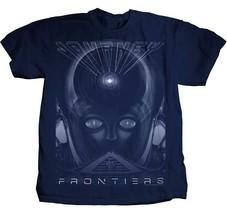 Voyage Frontiers Classique Progressive Groupe de Rock Jazz Fusion T-Shir... - $21.94+