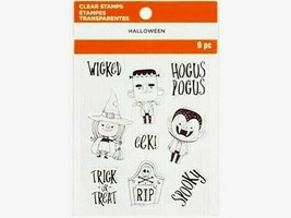 """MSPCI Halloween Clear Cling Stamp Set """"Halloween"""" #661999"""