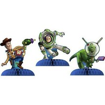 Toy Story Table Top Centerpiece Decorations 3 Piece Set New - $8.95