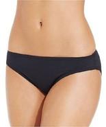 Coco Rave Women's Solid Hipster Bikini Bottom Jet Black Size Medium - $18.81