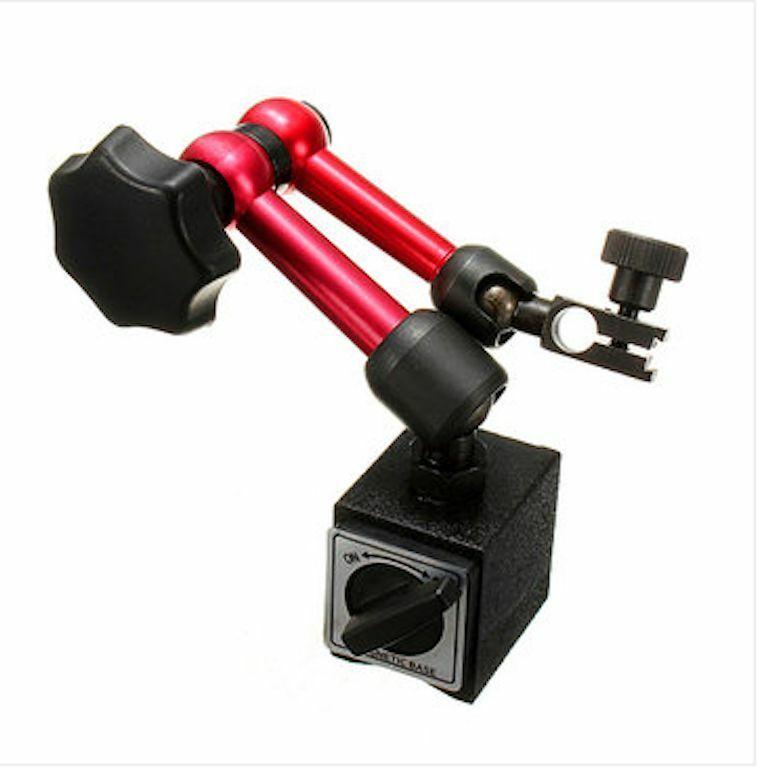 Hohe Stabilit/ät Magnetfu/ßhalter Flexible Precision Strong Magnetfu/ßhalter Magnetic Gauge Stand f/ür Messuhr