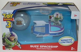 Disney Pixar Toy Story 3 Buzz Lightyear Spaceship Remote Control Vehicle... - $5.39