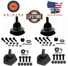 LIFETIME 4 New Front Upper & Lower Ball Joints for Chevy Blazer GMC Jimm... - $37.39