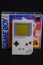 Nintendo Game Boy Grey Handheld System,Grey Game Boy System,Gray Gameboy... - $549.99
