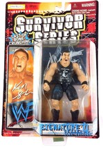 Ken Shamrock WWF WWE Jakks Action Figure Signature Series 4 1999 Sealed - $24.70