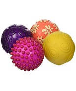 B. Toys – Oddballs - 4 Sensory Toy Balls in Warm Colors for Toddlers Age... - $17.00