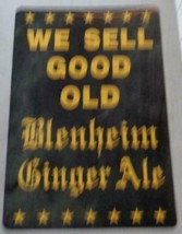 Fabulous Collectible Flexible Plastic Sign  WE SELL GOOD OLD BLENHEIM GI... - $19.79