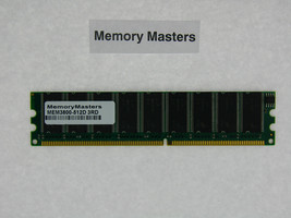 Tested MEM3800-512D 512MB ECC DRAM MEMORY FOR CISCO 3800 3825 3845 Routers