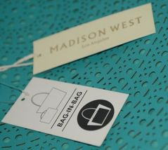 Madison West Product Number BGW10511 Extra Large Turquoise Shoulder Bag In Bag image 9