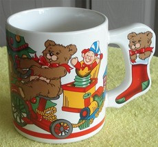 Nice Holiday Expressions Ceramic Coffee Mug, VERY GOOD CONDITION, WITH BOX - $11.87