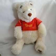 Authentic Winnie the Pooh Disney Store Exclusive Original Fuzzy Red Shir... - $59.39