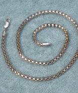 Silver Chain Signed Italy Stamped 925 - $48.00