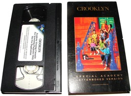 CROOKLYN For Your Consideration Academy Awards Screener VHS Spike Lee Movie - $14.99