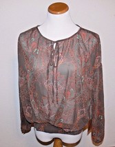 Love 21 Women's Paisley Pattern Top Shirt Size Small New - $15.99