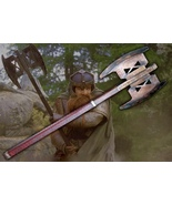 Lord Of The Ring Gimli's Axe Prop Replica 1/1 Custom Dragon Dwarf Star W... - $349.99