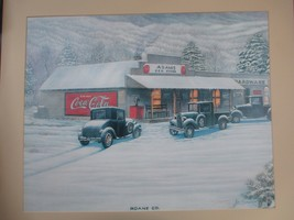 Coca-Cola Jim Simpson Roane County General Store Limited Print SIGNED NU... - $24.70