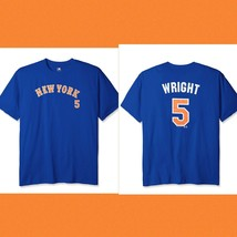 MLB New York Mets Wright #5 Men's Tee, 3X, Royal - $22.02