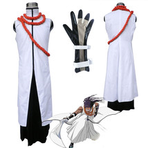 Bleach Tousen Kaname Halloween cosplay costume party robe - $105.42