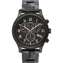 Timex Allied LT Chrono 42mm - Black Case w/Black Camo Dial - $116.94
