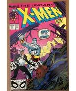 Uncanny X-Men #248 1989 NM Condition Marvel Comic Book 1ST Jim Lee / Gambit - $16.19