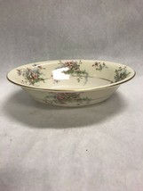Vintage Theodore Haviland Apple Blossom Oval Vegetable Bowl 9.5 Inch China - $28.95