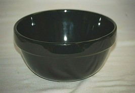 "Stackables Black Ceramic 6"" Mixing Soup Cereal Bowl All Black Coupe Main... - $19.79"