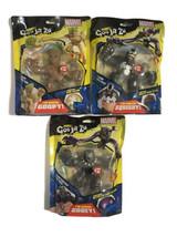 Heroes Of Goo Jit Zu Lot Marvel Series Groot Venom Black Panther New Rare - $83.78