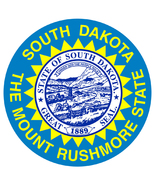 South Dakota vinyl window cling sticker 12cm car Mount Rushmore USA Amer... - $2.91+