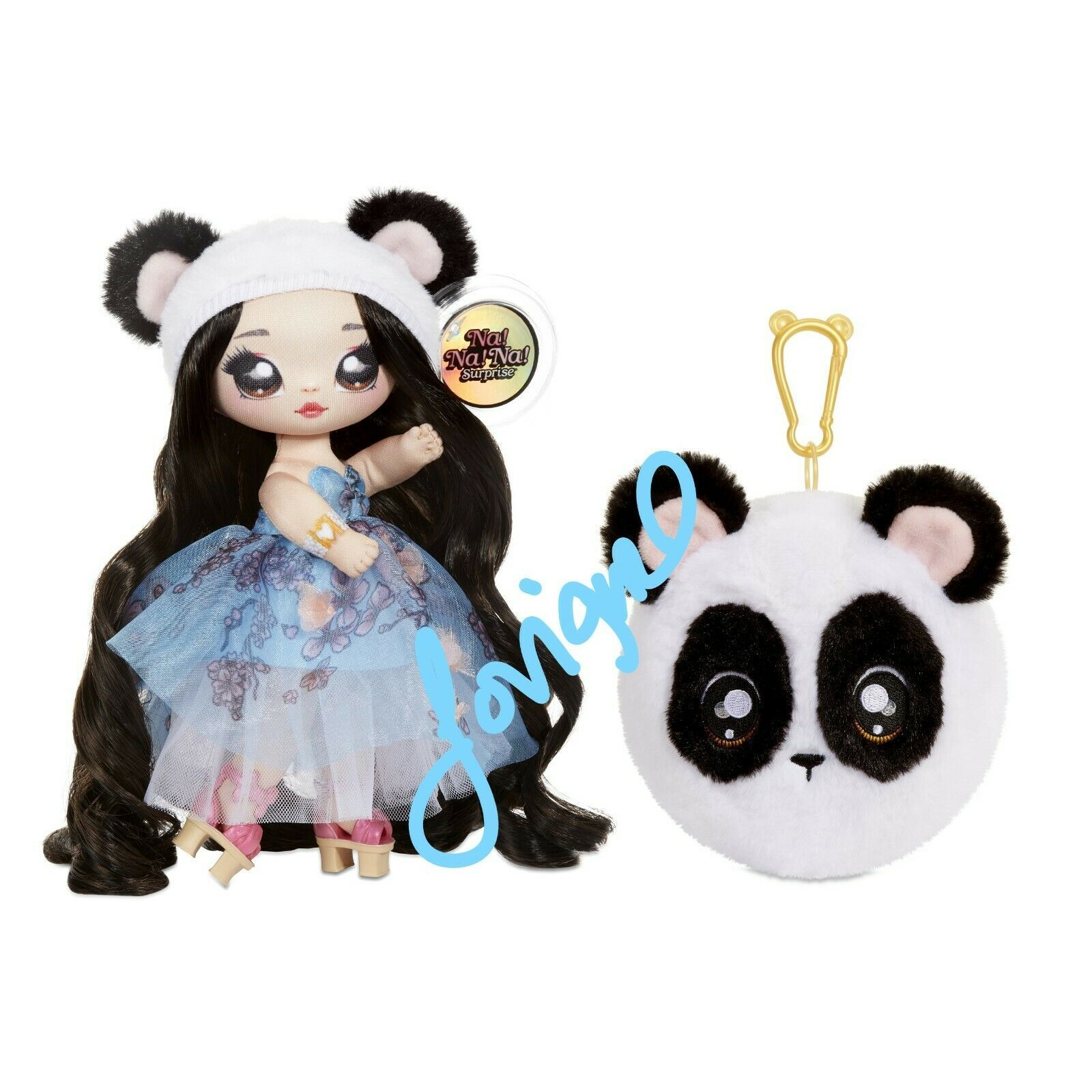 NA NA NA SURPRISE SERIES 4 JULI JOYFUL FASHION DOLL 2 IN 1 PLUSH POM NEW!!! - $37.99