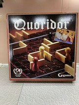 Quoridor Board Game 1997 by Gigamic Strategy Wood Pieces Intrnl Award 2-... - $17.49